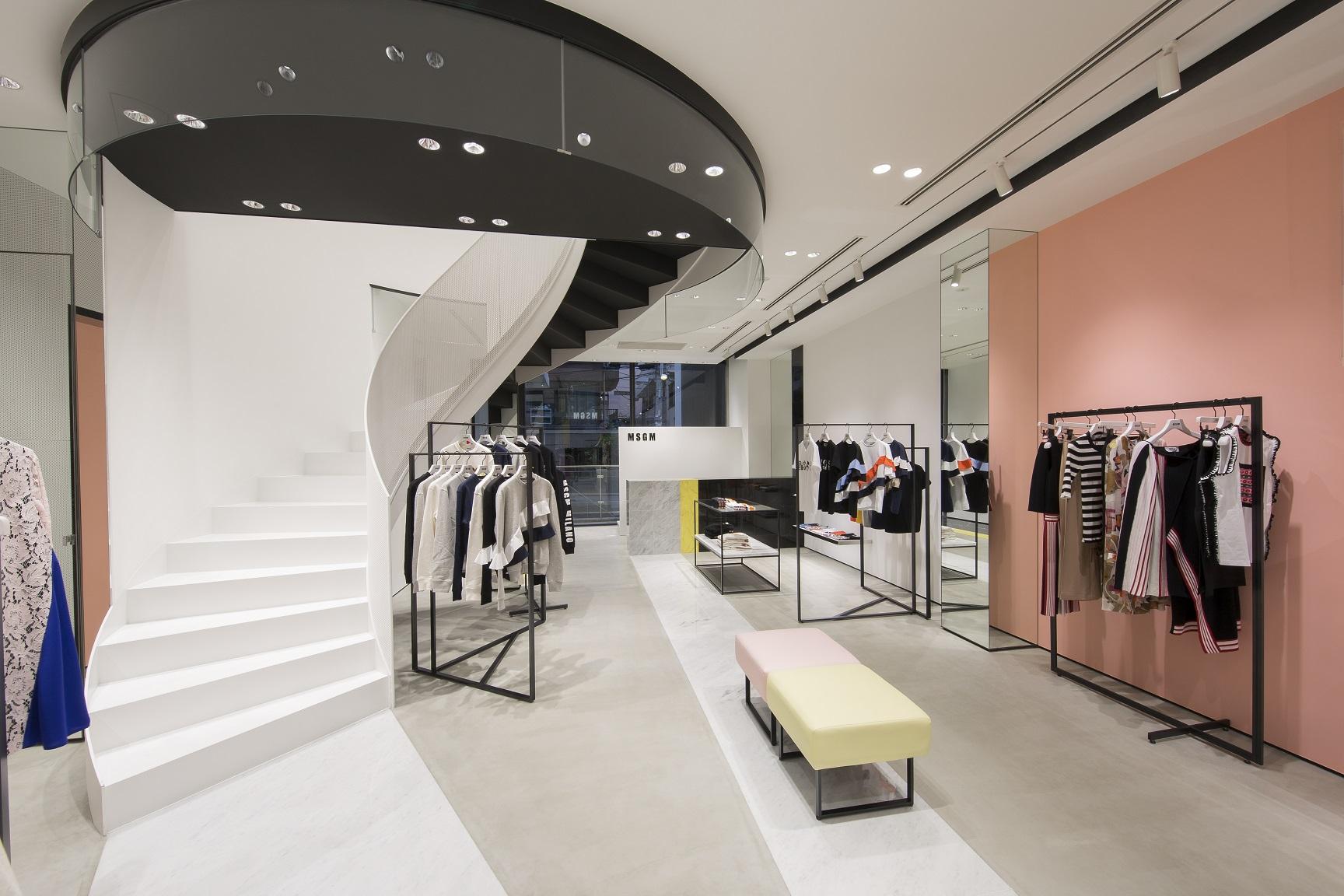 MSGM's new Tokyo store