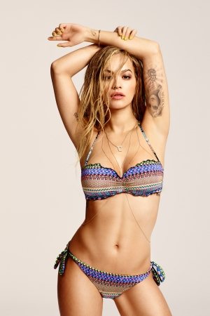 Rita Ora in Tezenis' summer campaign