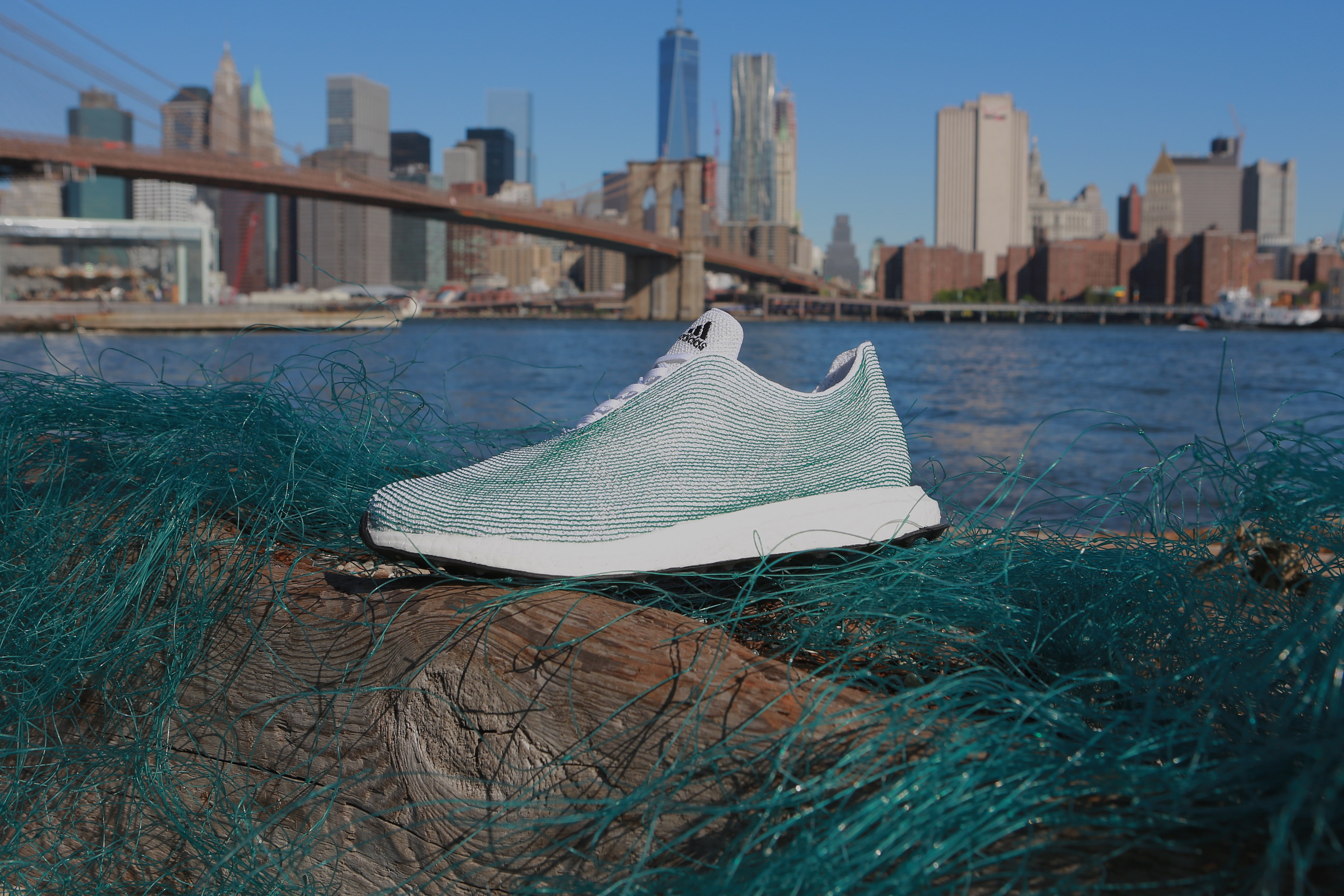 Adidas x Parley for the Oceans sneaker made from ocean waste