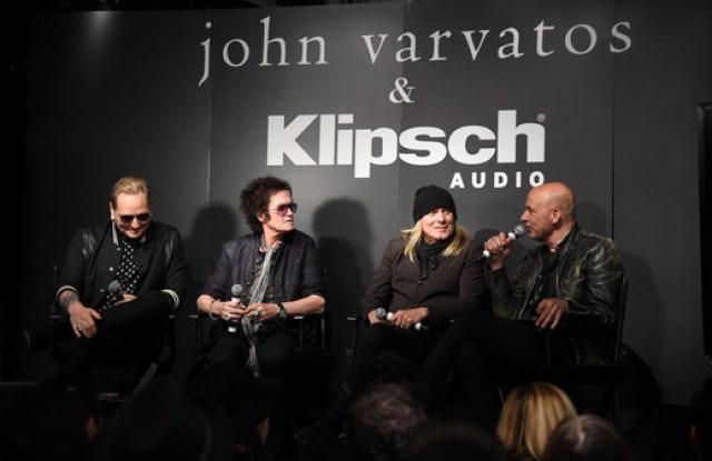 John Varvatos Matt Sorum Glenn Hughes Robin Zander Rock and Roll Hall of Fame