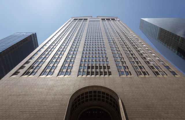 The facade of the Sony Tower at 550 Madison Avenue where Oetker Collection is to open a new hotel.