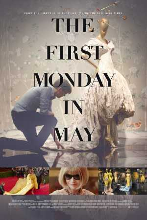 "Movie poster of ""The First Monday in May."""