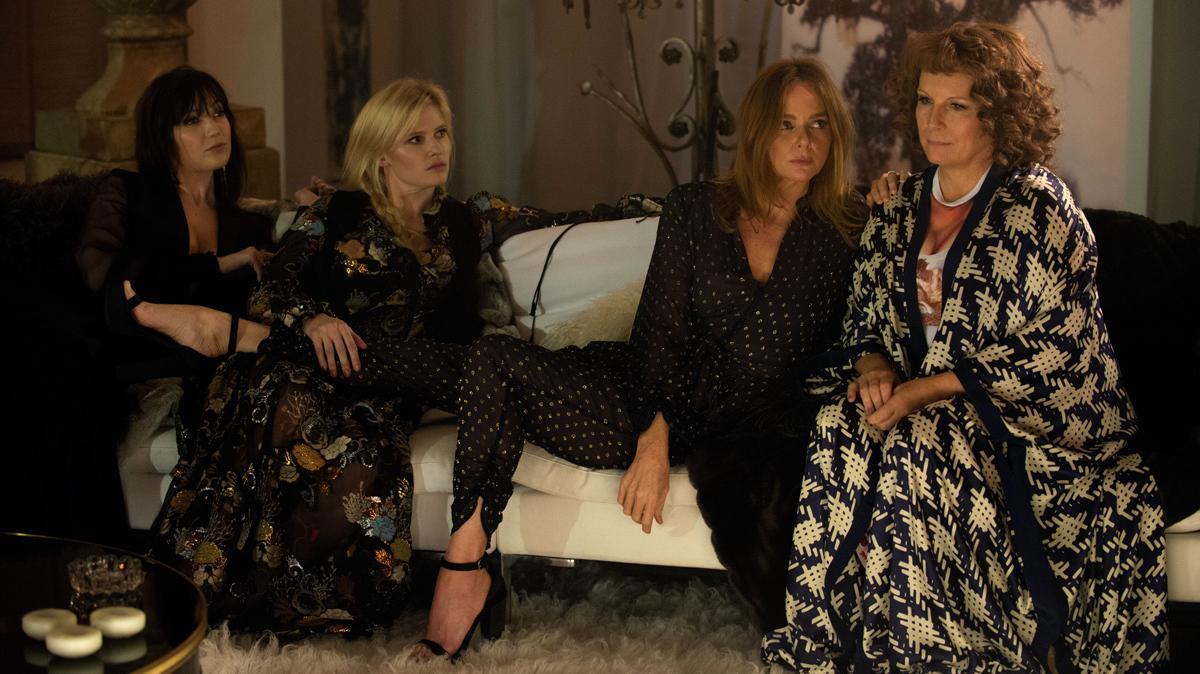 Absolutely Fabulous: The Movie Daisy Lowe, Lara Stone, Stella McCartney and Jennifer Saunders