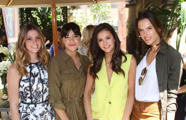 Ashley Greene, Jessica Szohr, Nina Dobrev and Alessandra Ambrosio at CÎROC Vodka Empowered Brunch Honoring Nina Dobrev