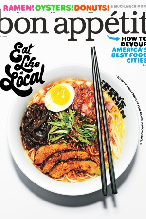 Bon Appétit's May 2016 Issue.