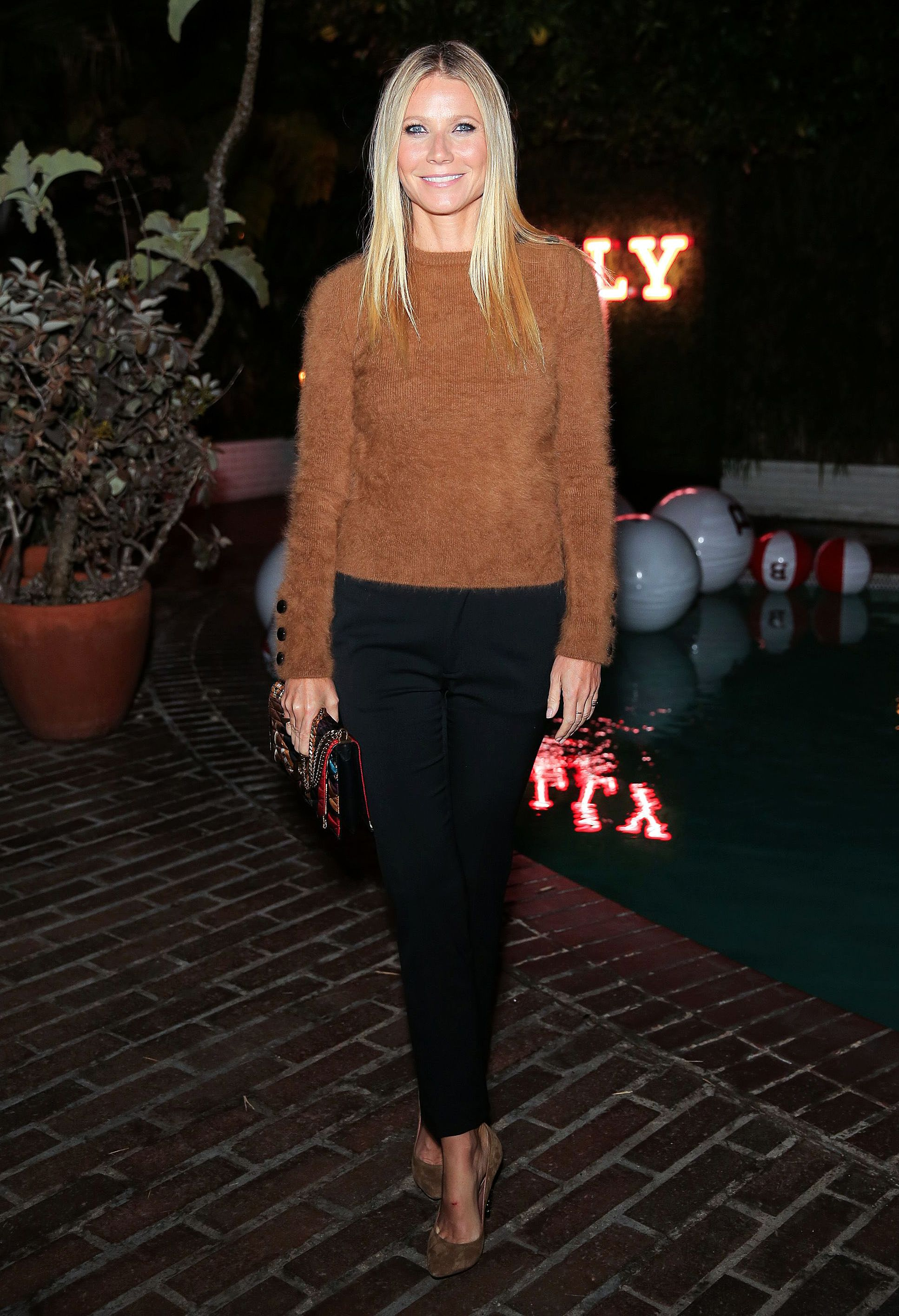 Gwyneth Paltrow AT Bally dinner IN L.A.
