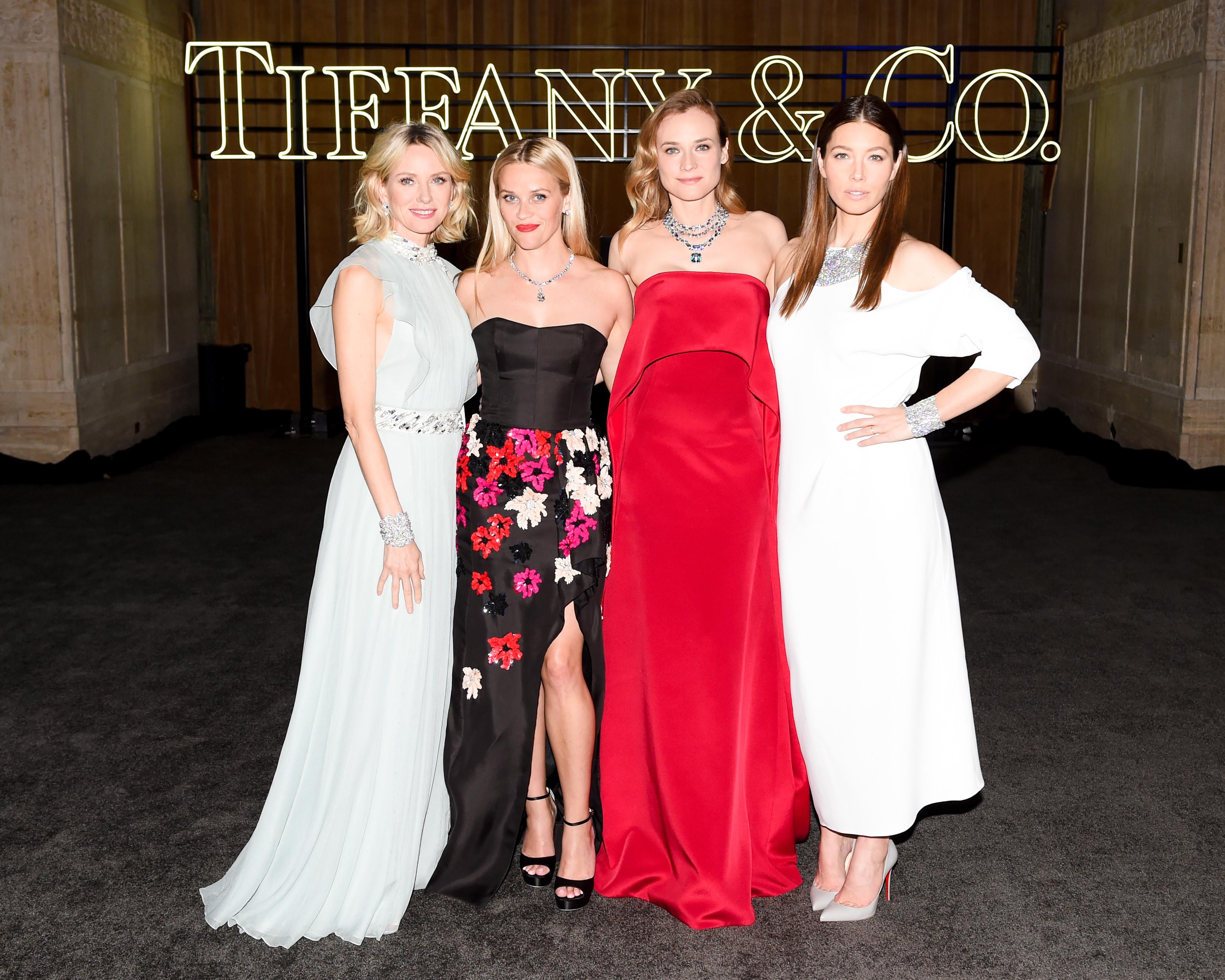 Naomi Watts, Reese Witherspoon, Diane Kruger, Jessica Biel.