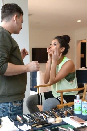 Biore Brand Ambassador Shay Mitchell At The Skincare Brand`s Photo Shoot