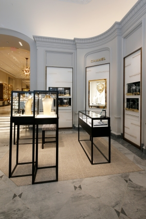Chanel Boutique Inside Bergdorf Goodman.