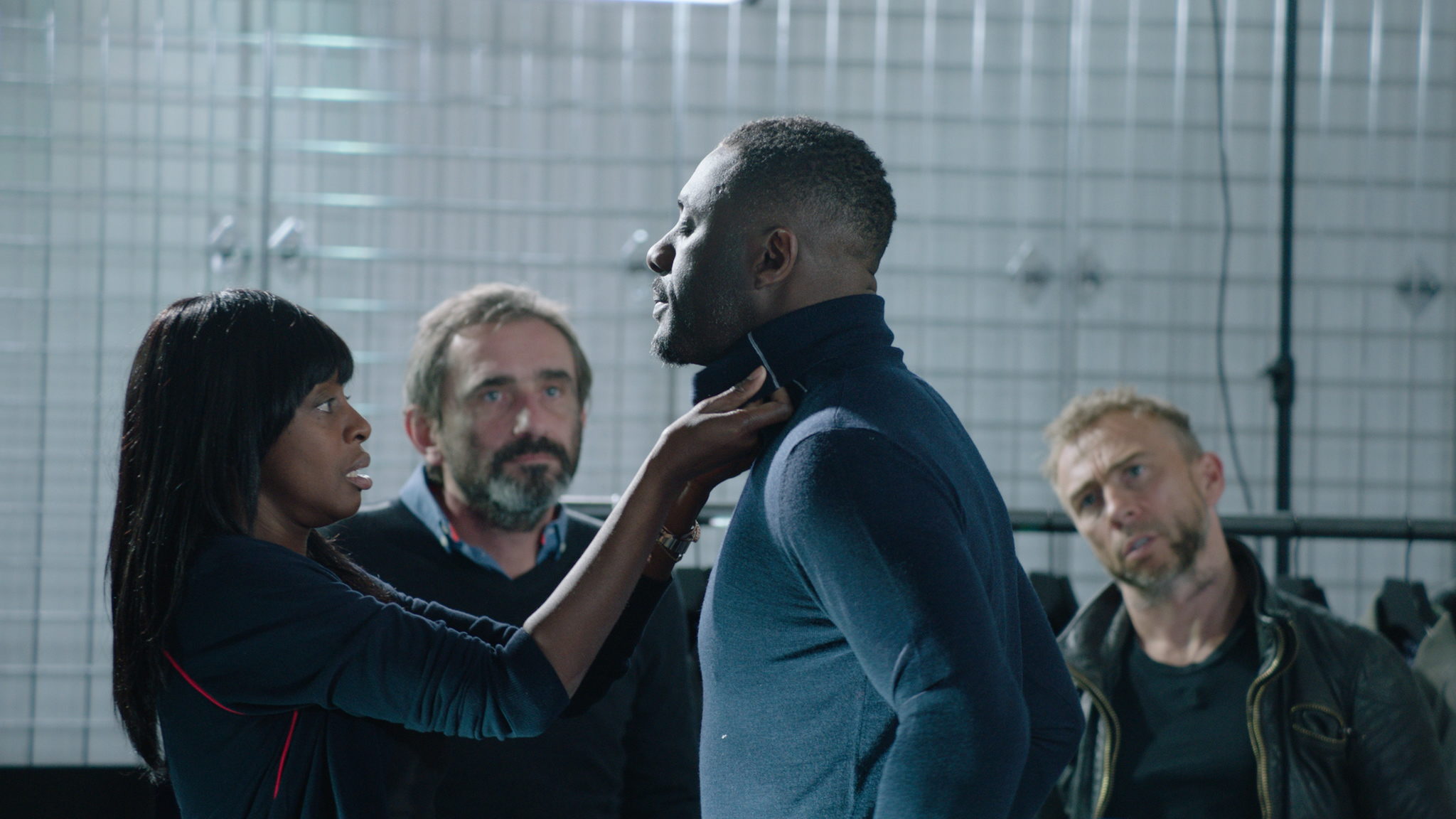 Idris Elba Superdry Cut From a Different Cloth