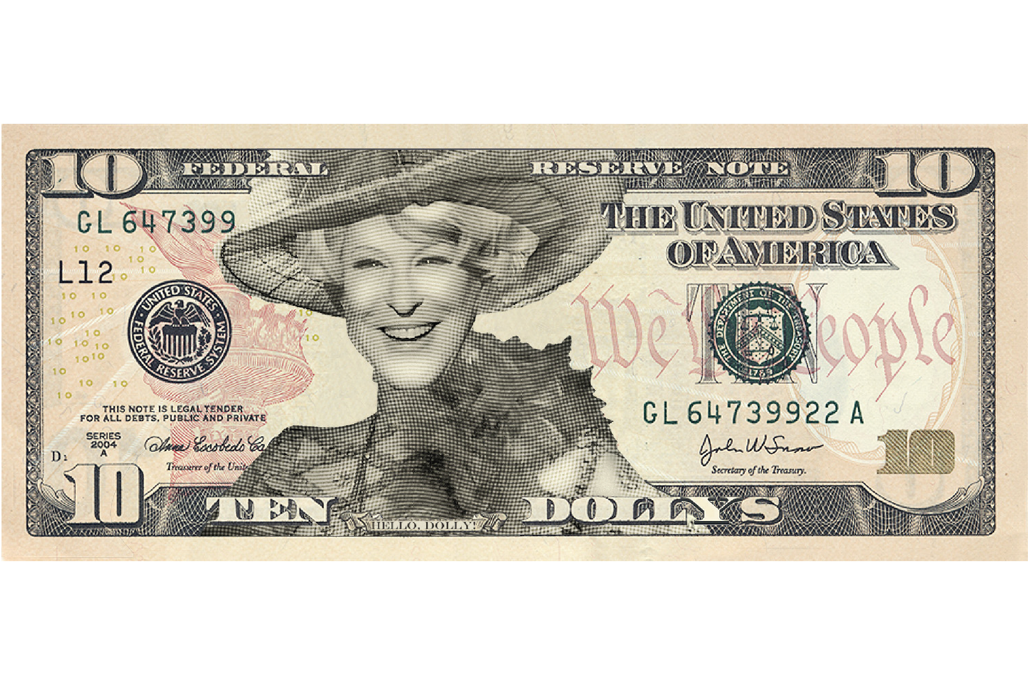 Bette Midler as Dolly Levi on the Ten.