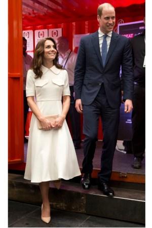 Duke and Duchess of Cambridge Emilia Wickstead Royal Tour India Bhutan