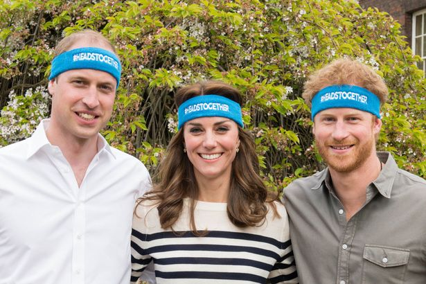 The Duke and Duchess of Cambridge and Prince Harry Heads Together