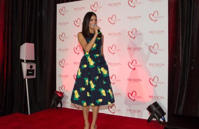 Alejandra Espinoza, global brand ambassador for Revlon