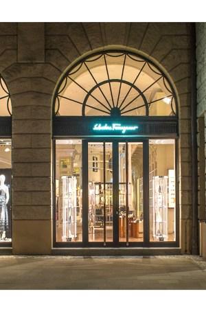 Ferragamo's new Berlin store
