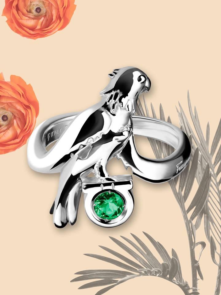 Daniela Villegas for Salvatore Ferragamo jewelry