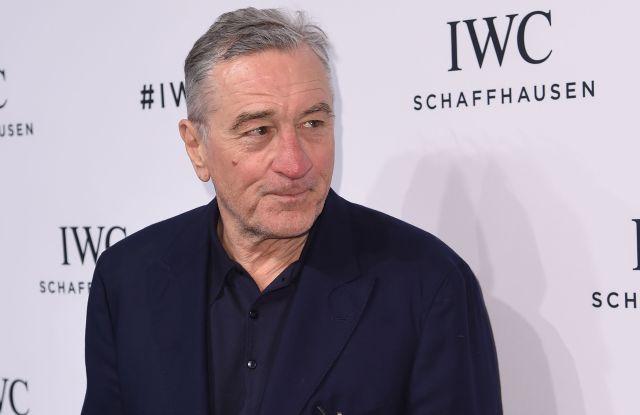 Robert De Niro at the IWC Schaffhausen's For the Love of Cinema Dinner