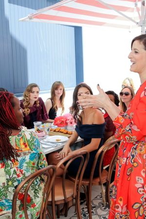 Cindi Leive at the Glamour's Game Changers Lunch