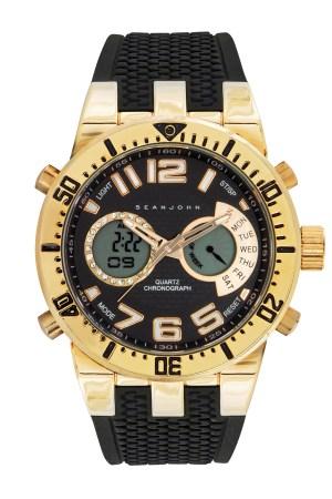 Sean John Analog-Digital Chronograph Watch P. Diddy Combs