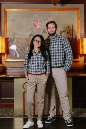 The hotel uniform for Graduate Hotels, featuring Gitman Vintage shirts.