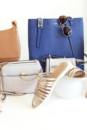 Accessories from H by Halston for QVC.