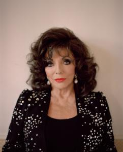 Joan Collins is among six cover stars.