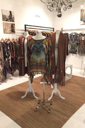S. Collier showroom displays looks by Blank