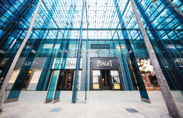 The Miami Design District has become one of the region's new destinations for luxury retail.