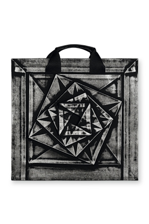 The new Issey Miyake book includes this customized bag.