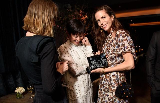 Cristina Ehrlich with Sandra Choi