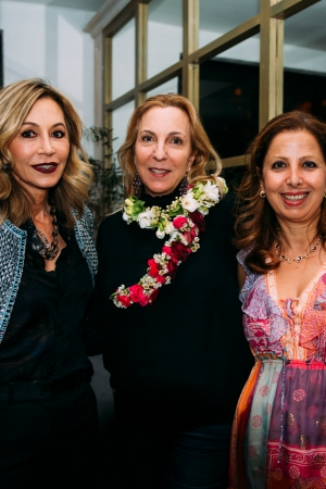 Ohana & Co Success for Progress Dinner Anastasia Soare, Susan Rockefeller and Karine Ohana