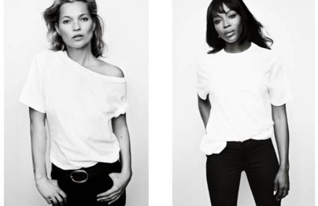 Fashion Targets Breast Campaign Kate Moss Naomi Campbell Mario Testino