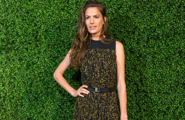 Cameron Russell at the McGovern-Dole Leadership Award Ceremony honoring Michael Kors