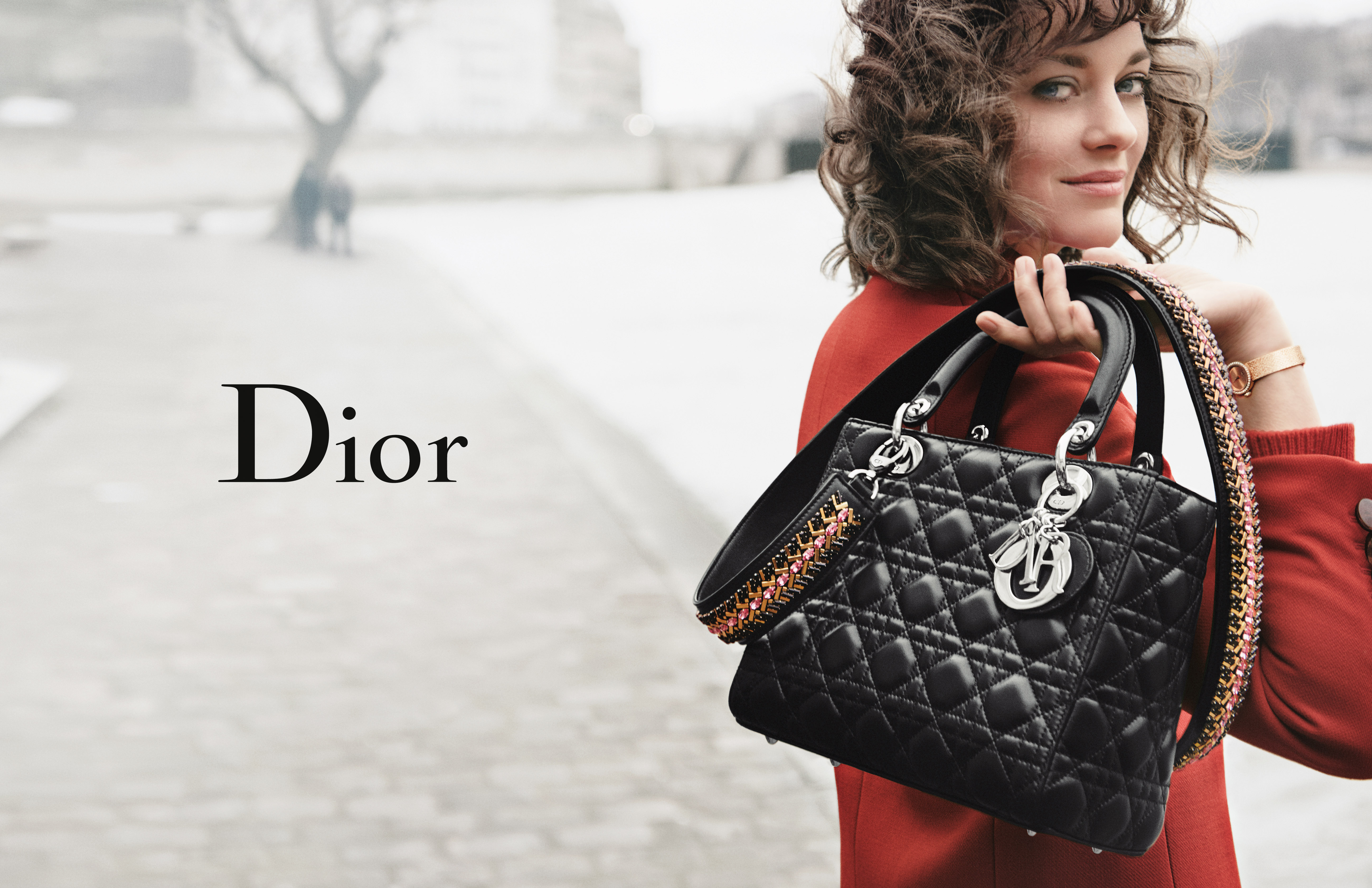 Marion Cotillard in the Lady Dior campaign shot by Peter Lindbergh