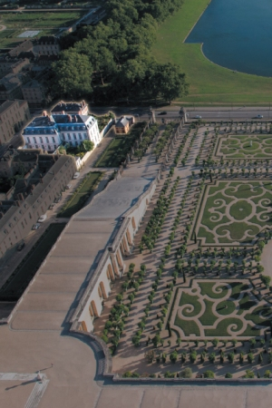 The Grand Controle in Versailles