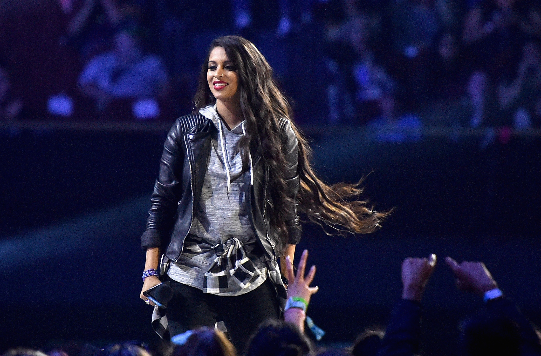 Lilly Singh at WE Day California