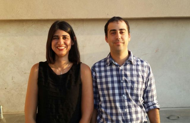 Liron Slonimsky and Oren Zoner, co-founders and co-chief executive officers of Awear Solutions.
