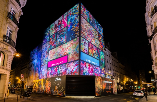 """Ryan McGinness' """"Mindscapes"""" for Longchamp."""