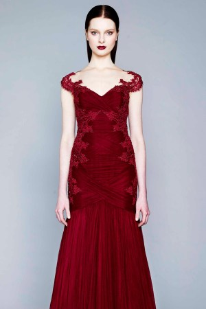 A look from Marchesa