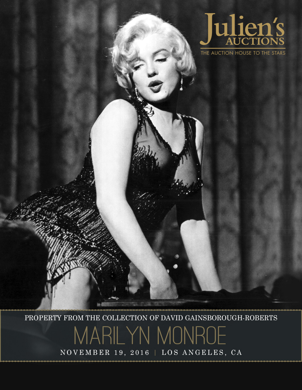 Julien's Auctions Marilyn Monroe's memorabilia
