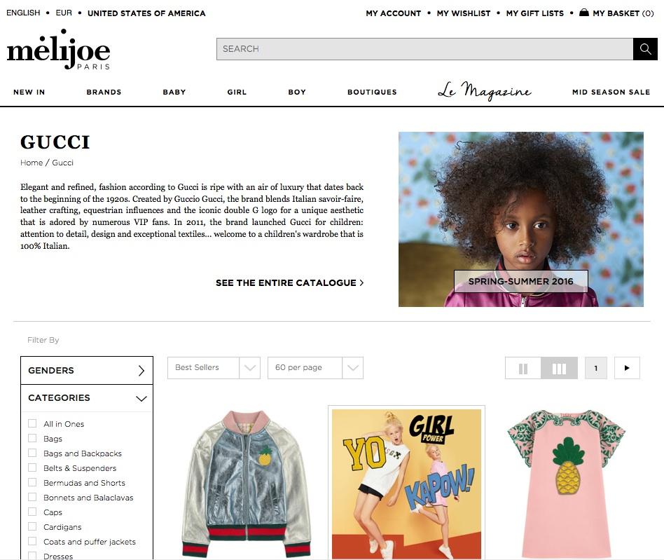 The Melijoe Web site