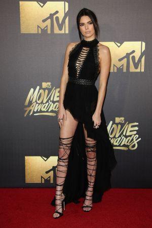 Kendall Jenner in Balmain.