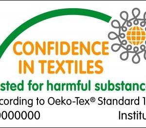 Oeko-Tex Standard 100 label.