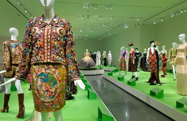 Todd Oldham's exhibition at RISD.