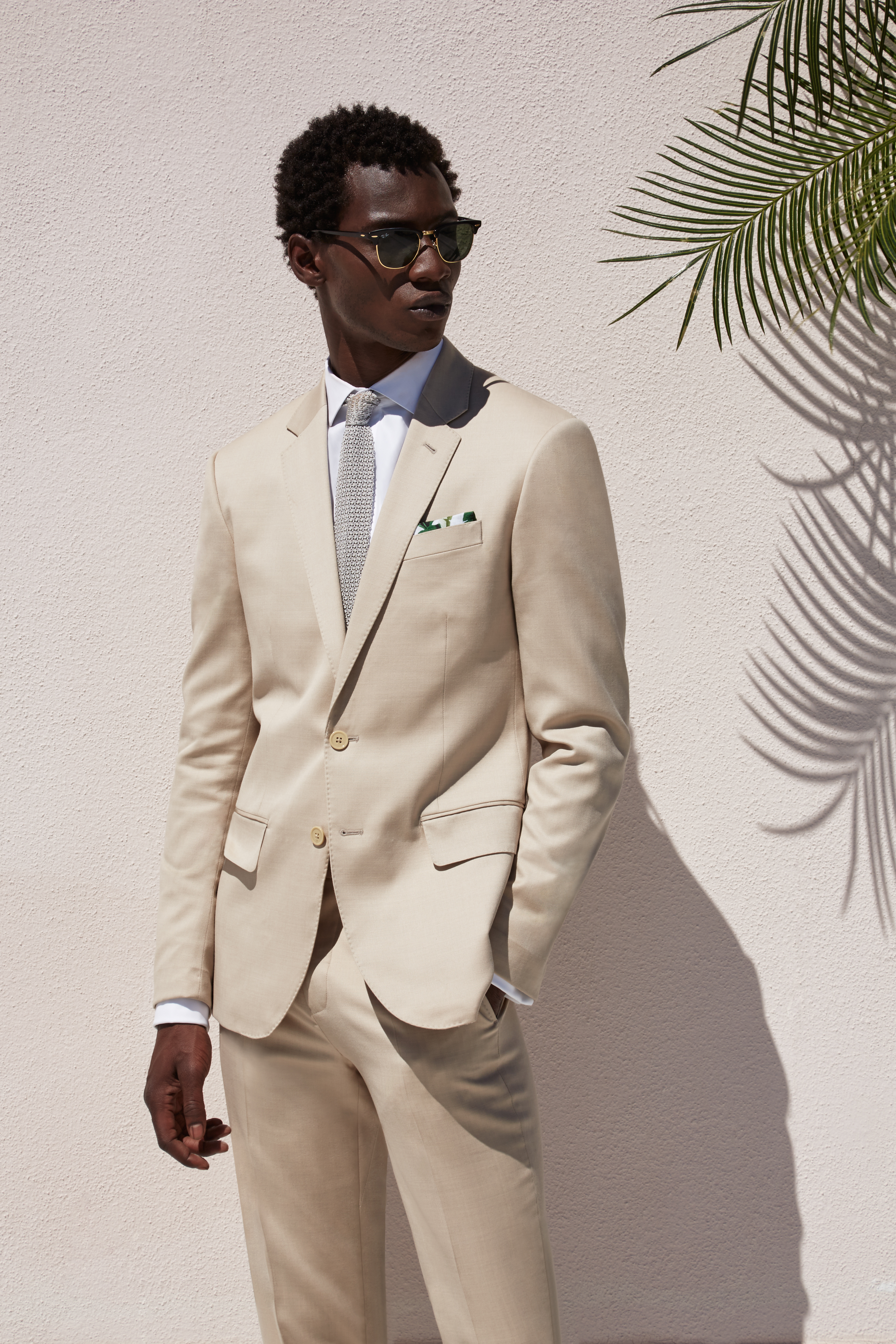 A look from Ovadia & Sons collection for The Black Tux.