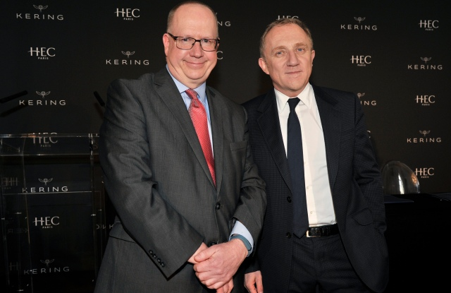 Peter Todd and François-Henri Pinault