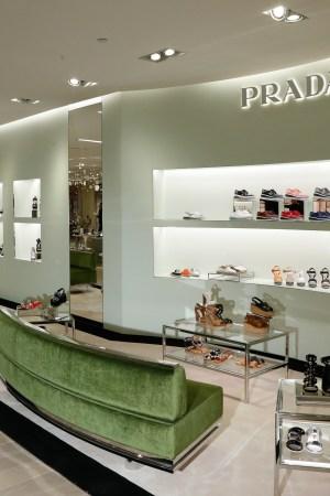 Saks Fifth Avenue's Prada Shop in New York.