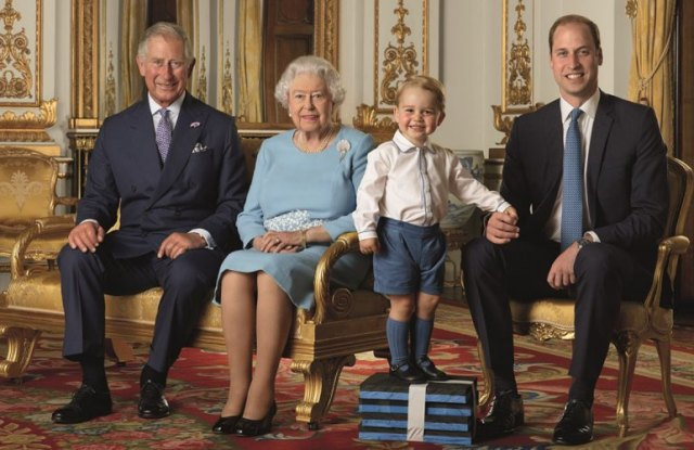 Royal Mail's First Class Stamp Prince Charles, Queen Elizabeth, Prince George Duke of Edinburgh