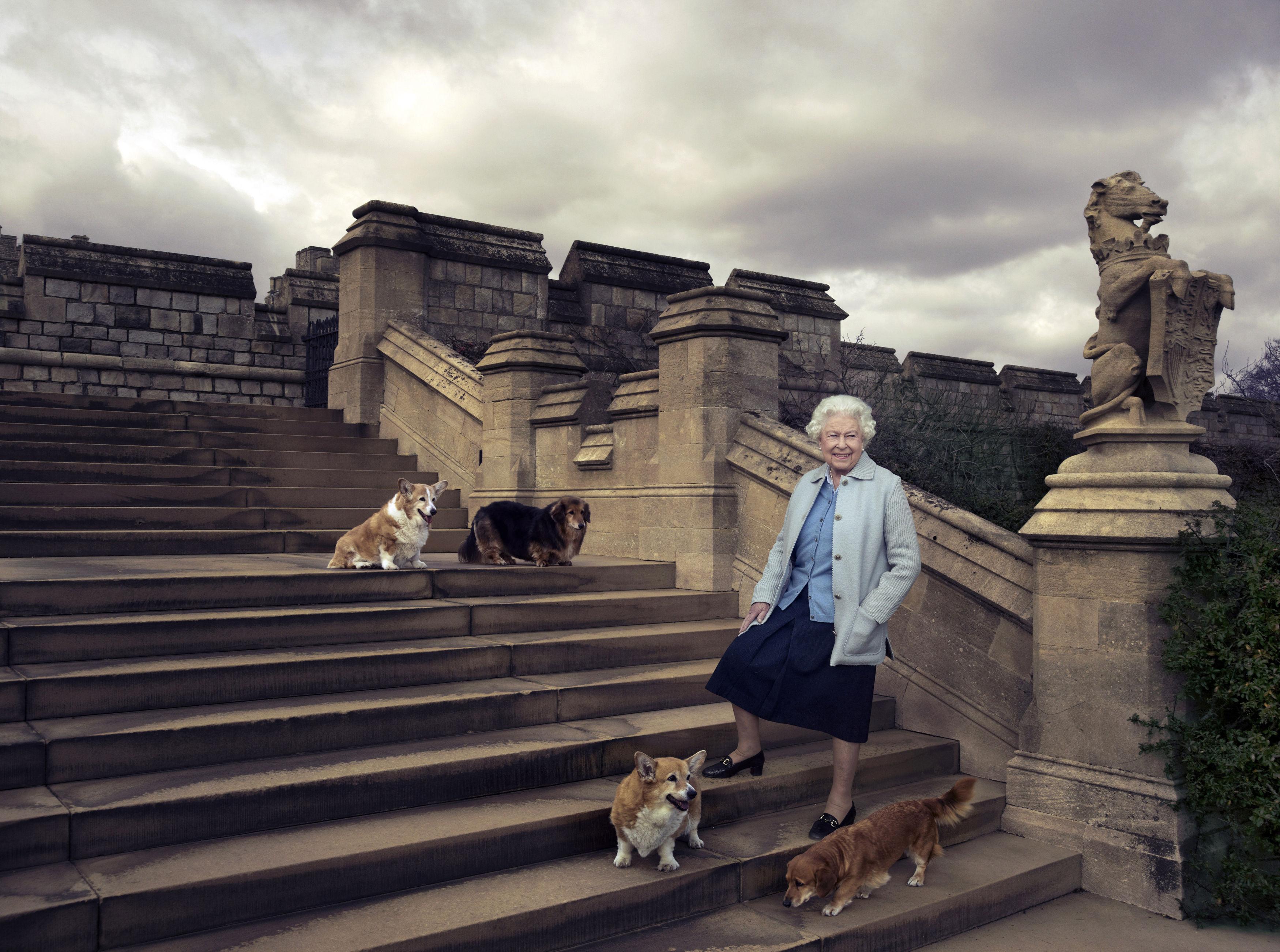 Queen Elizabeth Annie Leibovitz Portraits 90th Birthday