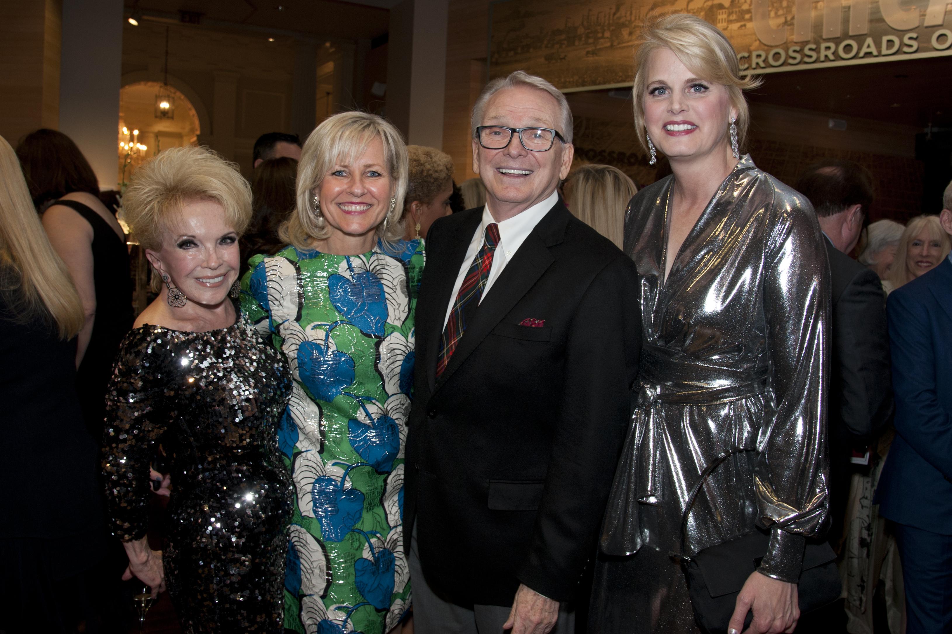Sherrill Bodine, Annette Findling, Bob Mackie and Kristin Noelle Smith.